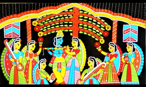 Tikuli Art: A lost art from Bihar