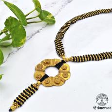 Royal Dhokra Long Necklace