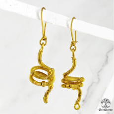 Twisted Affair - Dhokra Earring